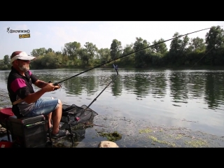Feeder fishing - fiume ticino (browning)(1)