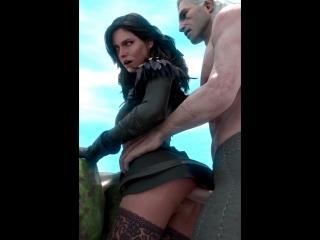 witcher 3 yennefer porn