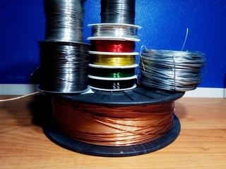 Виды проволоки для творчества и бисероплетения. Инструменты. // Types of wire for creativity.