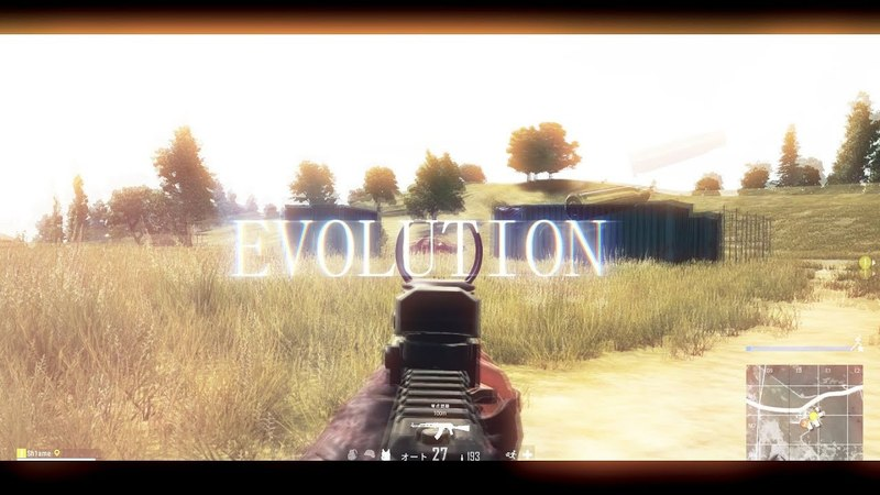 【PUBG】EVOLUTION - Yasusi Frag Movie