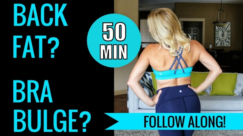 Back Fat and Bra Bulge Workout | 5000 Sub Giveaway!