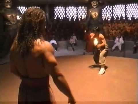 Monkey Kung Fu and Capoeira fight scene