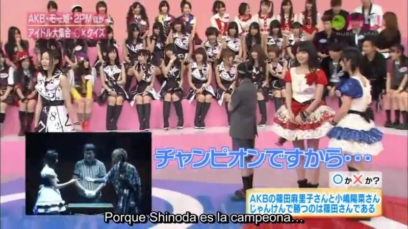 2011 Hello!Project, 2PM, AKB48, SKE48, y más (Sub español)
