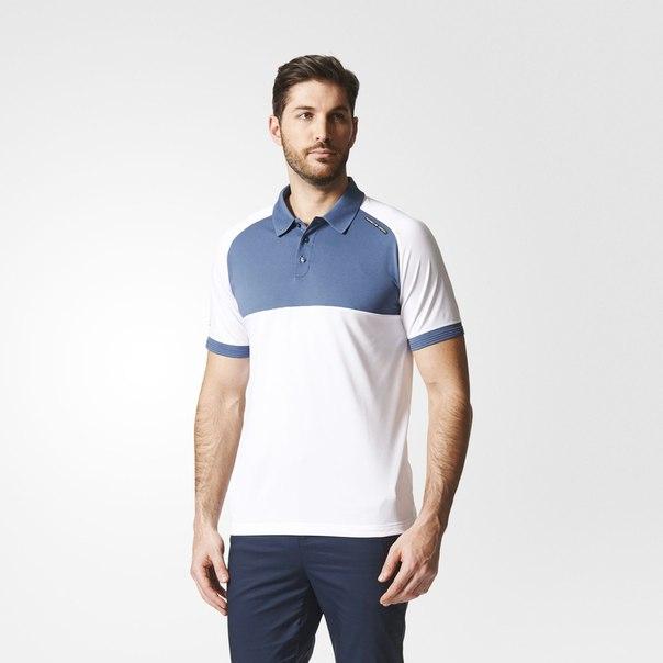 Рубашка-поло Colorblocked Piqué