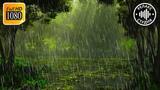 Шум дождя в лесу для сна, без музыки, без грозы, без грома, звуки природы 30 минут релакса