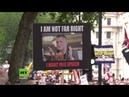 London: Tausende demonstrieren für Freilassung von Islamkritiker Tommy Robinson