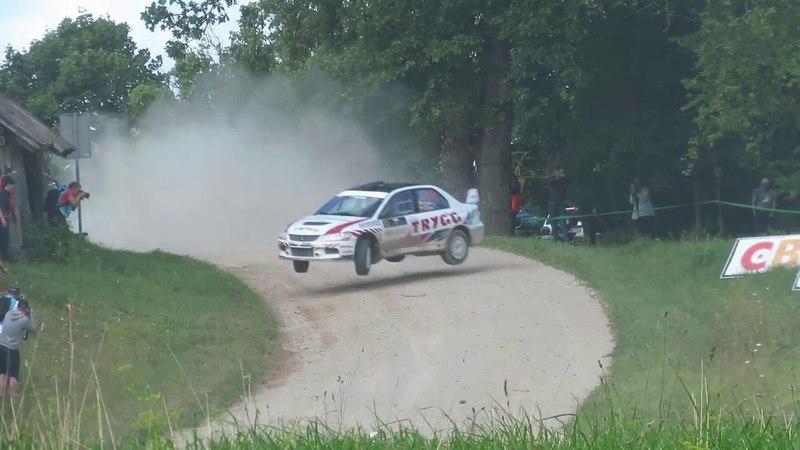 Samsonas Rally Rokiškis 2017 SS/GR-5 Vaidotas Žala action jump