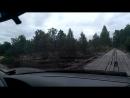 Мост через Лух, дорога на Санхр