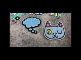 бренд DIY мультфильм гладить на Нашивки для детской одежды Вышивка патч аппликация Наклейки Костюмы декоративные Значки дети @