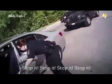 A Virginia police officer tased and used pepper spray on a man who was reportedly having a stroke because he wasnt responding.