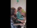 Играем с Луаной ансамбль Лебединое озеро . 💞💐