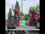 Ритуальный танец Дэдпула и Человека Паука для победы над Таносом