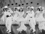An Eddie Cantor and George Murphy Tap Dance Routine