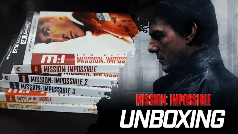 Unboxing l Mission: Impossible Collection (4K)