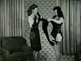 Bettie Page - Domineering Roz Strikes Back - spanked, порка, бдсм, госпожа, bdsm, fetish, бондаж, фетиш, рабыня, фемдом, erotic