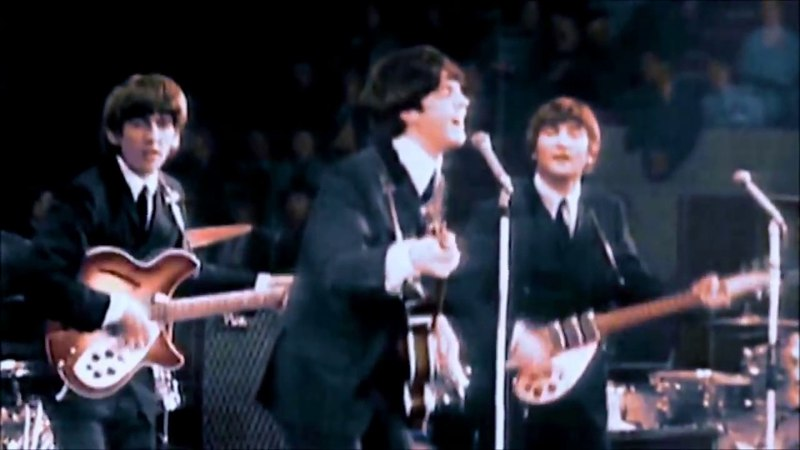 The Beatles Live at Empire Pool 1964 Color