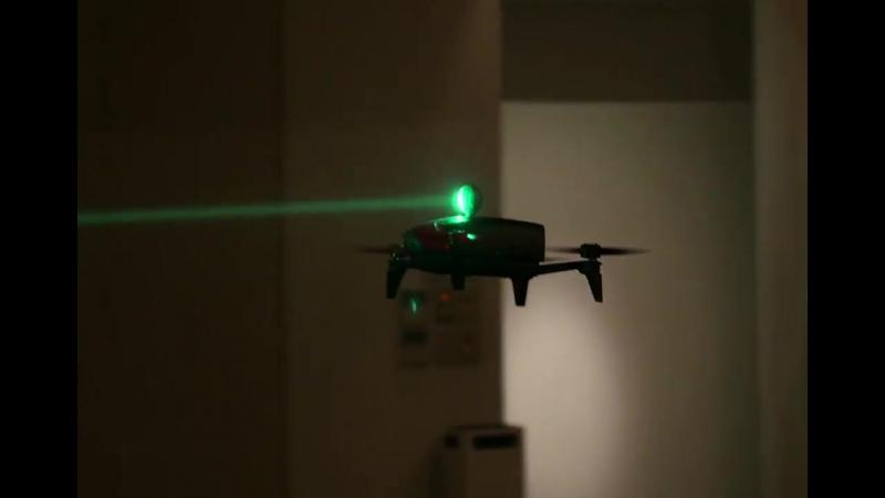 Laser IR Tracking Drome Demonstration