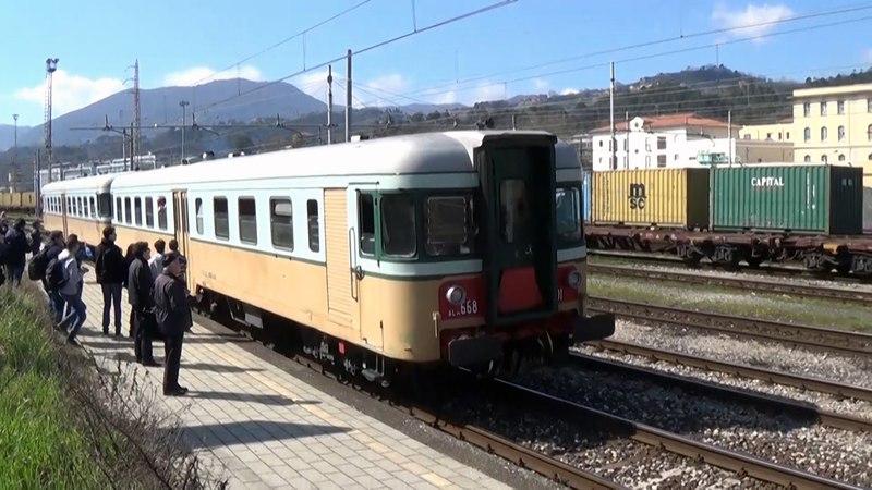 2016 03 19 Porte Aperte La Spezia Migliarina A bordo delle ALn 668 1401 ALn 668 1452