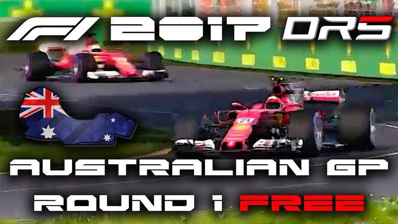 F1 2017 [DRS] FREE Division 1 AusGP