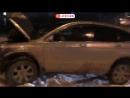 Авто наехал на толпу людей в Новосибирске