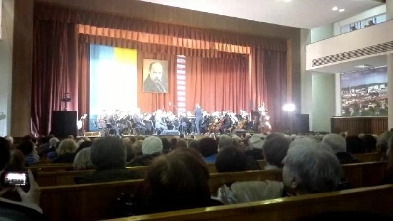 Увертюра до оп. Тарас Бульба у виконанні симф.оркестру Львівської політехніки