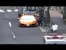Японский полицейский догнал Lamborghini на велосипеде и оштрафовал