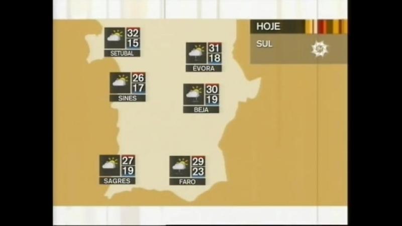 Прогноз погоды (RTP2 [Португалия], 01.09.2010)
