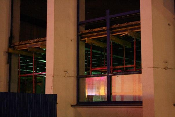 Ремонт здания вокзала: внутренние помещения.