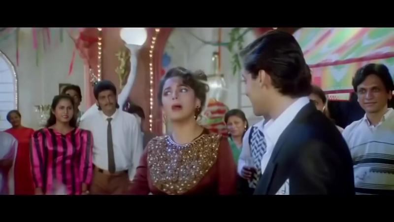 Влюбленное сердце / Dil Tera Aashiq (1993) - Мадхури Диксит, Салман Кхан