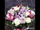 Композиция из цветов в шляпной коробке. 375295455032 Цветочный магазин Farfella, Габровская 32