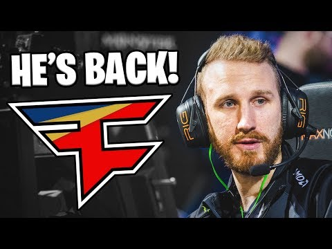 OLOF IS BACK! - OLOFMEISTER RETURNS TO FAZE! - BEST PLAYS OF ALL TIME! CS:GO