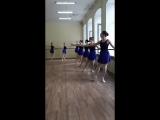Зачет в СГИКе у Елизаветы, тренера направления Боди-балет