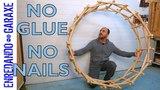 How to make Leonardo Da Vinci wooden circle. P2