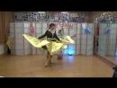 Пчелка - Аня Корнева - шоу номер с крыльями - ансамбль В Мире Танца, концерт 15.11.17