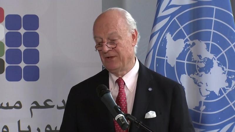 L'envoyé de l'ONU, Steffan de Mistura, met en garde contre la nouvelle crise humanitaire imminente en Syrie