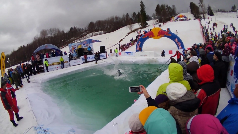 Red Bull Jump and freeze 2018 - шейхи-нищкьроды