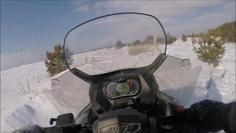 Зима Рудник 2018 BRP и бешеный Буран