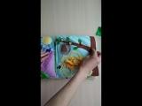 Развивающая книжка из фетра для Евочки