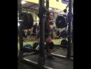 Аманда Лоуренс,  приседания 184 кг на 8 раз