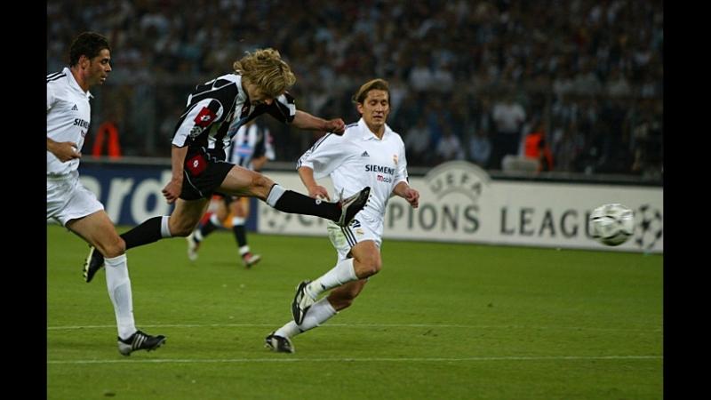 Лига Чемпионов сезон 2002-03 1/2 финала Ювентус - Реал Мадрид
