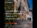 Il Santuario italiano sospeso tra cielo e terra