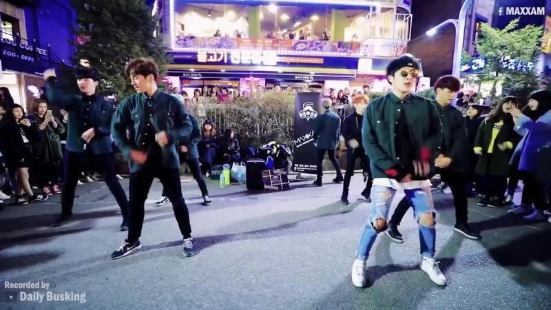 EXO(엑소) 'MONSTER(몬스터)' 칼군무 Cover (MAXXAM 홍대 직캠)