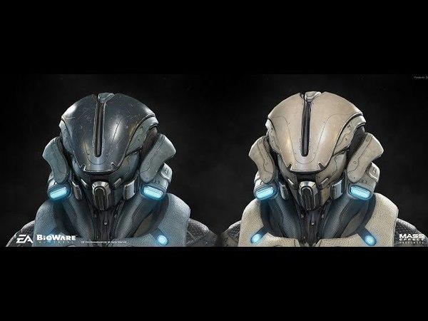 Mass Effect Andromeda Multiplayer Angara Avenger Gold SOLO