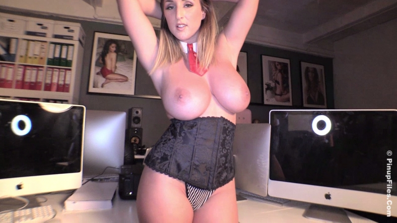 Busty Secretary Stacey Poole 8