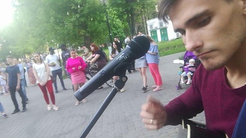 Андрей Макаров - группа крови (гр.Кино cover live)