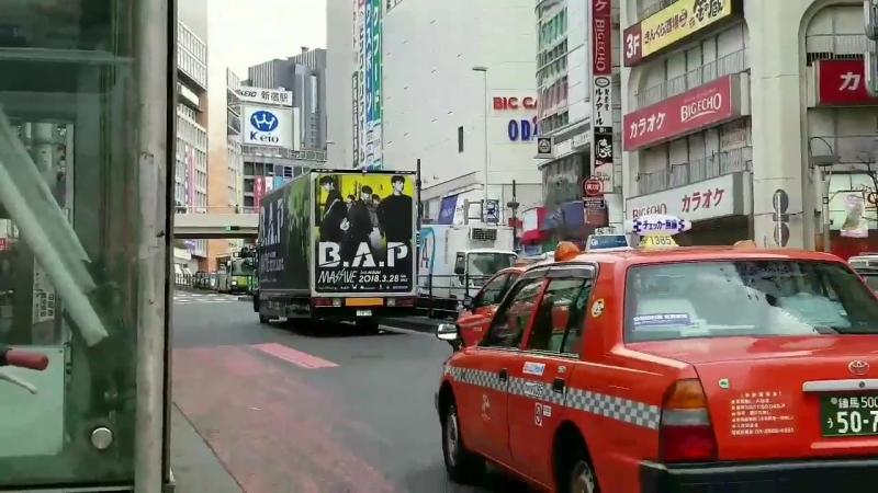 OTHER | Промо-реклама по поводу выхода 3-го японского альбома「MASSIVE」на грузовике