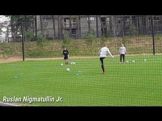 Ruslan Nigmatullin Jr. на тренировке