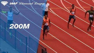 Noah Lyles Wins Men's 200m - IAAF Diamond League Eugene 2018