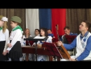 MVI_5566в школе № 109 концертная программа Аты-Баты, шли солдаты оркестра Лад