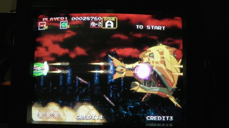 Darius Gaiden ダライアス外伝 (Sega Saturn, NTSC J, Scart RGB)